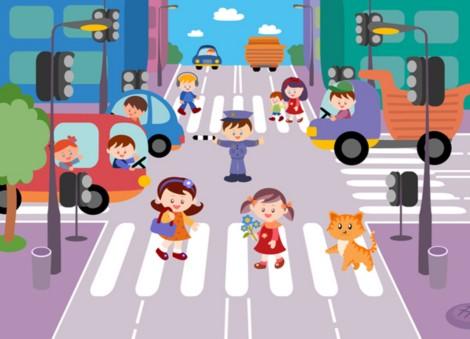 дорожные знаки веселые картинки для детей